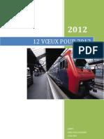 Douze Voeux Pour 2012