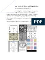 Atomic Feng Shui Aetheric Diodes and Magnetization