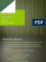 Securities Market [Finance]