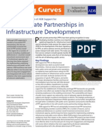 ADB's Assistance for Public-Private Partnership in Infrastructure Development