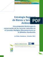 Estrategia Regional de Bienes y Servicios Ambientales