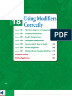 Using Modifiers Correctly-unit18