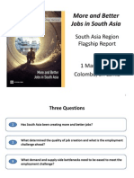 More and Better Jobs in South Asia - World Bank