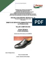 Análisis de Objeto Técnico El zapato