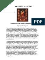 Dzogchen Masters
