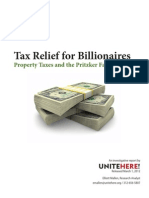 Tax Relief for Billionaires