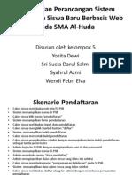 Slide, Analisa Dan Perancangan Sistem Penerimaan Siswa Baru Berbasis