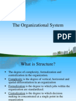 The Organizational System @ Bec Doms Bagalkot Mba