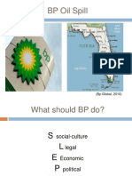 Florida Cultural Affect on the Oil Spill