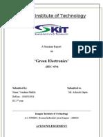 Green Electronics Seminar