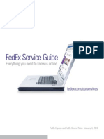 Fed Ex Service Guide 2010