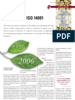 A Decade of ISO 14001