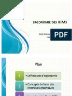 Ergonomie Des IHMs