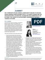 FTI Consulting Snapshot - EU-China Summit