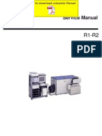 Konicaminolta r1 r2 Service Manual Pages