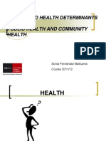 01.Health and Health Determinants