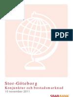 SBAB Bank Stor-Göteborg Konjunktur och bostadsmarknad nov 2011