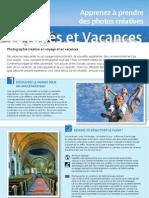 Cours Photo Vacances