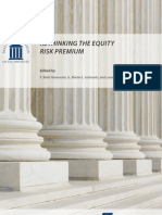 Rethinking the Equity Risk Premium