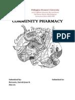Community Pharmacy internship
