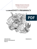 community pharmacy internship reflection paper generic drug  community pharmacy internship