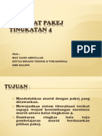 Ceramah Pakej SMK Baling