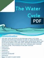 Biogeo Chemical Cycle -Watercycle