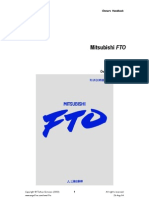 FTO Owners Handbook