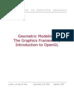 Geometric Modellin