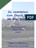 In cammino con Gesù tra la sua gente, di Ileana Ferri e Giorgio Boni