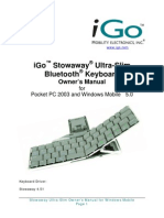 Stowaway Ultra-Slim for PPC5 Owner Manual_US