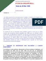 Situation Du Groupe Bullnote Du 25 Mai 1935