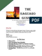 Saguaro Gunner Jan-Mar 2012