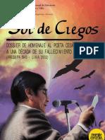 Numero de Sol de Ciegos dedicado a Cesareo Chacho Martinez