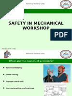 Mechanical Workshop Safety