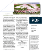 Calvary Chapel Newsletter March-April 2012