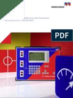 CT Analyzer IEEE Metering ENU