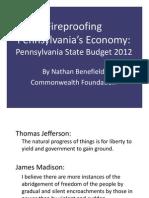 PA Budget Presentation