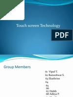 Final Touch Screen Sensor