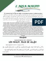 Les Waliy, Elus de Allah