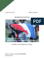 Championnats Nationaux - Dans l'Ombre de l'Equipe de France