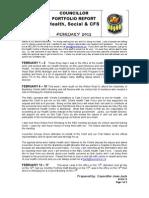 JJ Portfolio Report FEB 2012