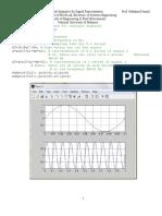 Matlab Signal Representation Examples