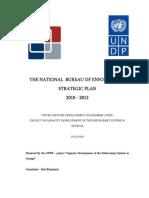 Strategic Plan  of the National Bureau of Enforcement (2010-2012)