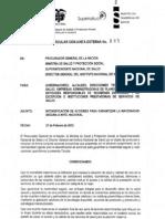 Circular Conjunta Externa 0005 de 2012 - ad Segura