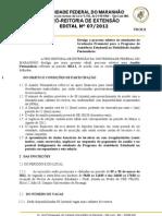 Edital Nº 0072012