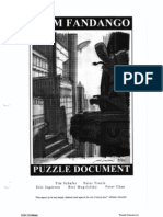 Grim Fandango Puzzle Document - Original