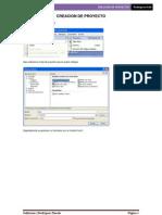 Creacion de Proyectos en VS2005