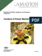 Conduct of Power Maintenance