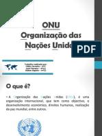 Organização da Nações Unidas